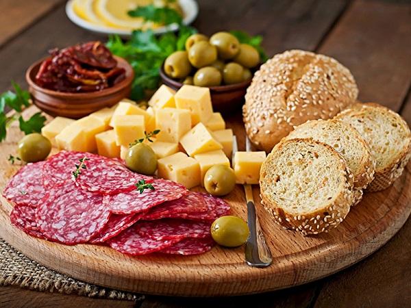 Местные продукты Италии