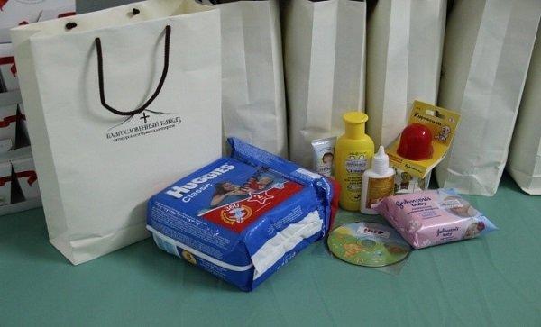 Подарки в родильном доме в Израиле