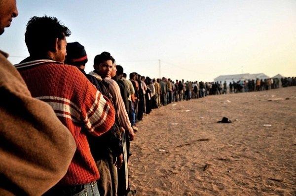 Маршруты миграции беженцев в Европе