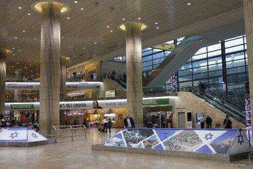 Аэропорт в Тель-Авиве