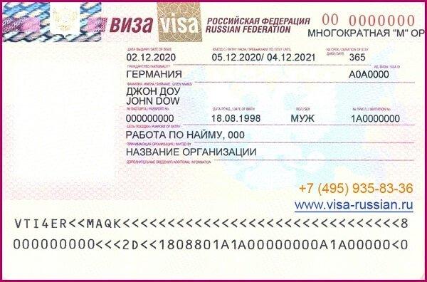 Рабочая виза: особенности получения, разновидности и документы