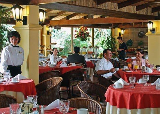 Цены на посещение ресторанов и кафе