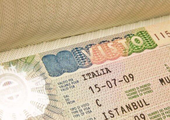 Трудовая визу в Италию