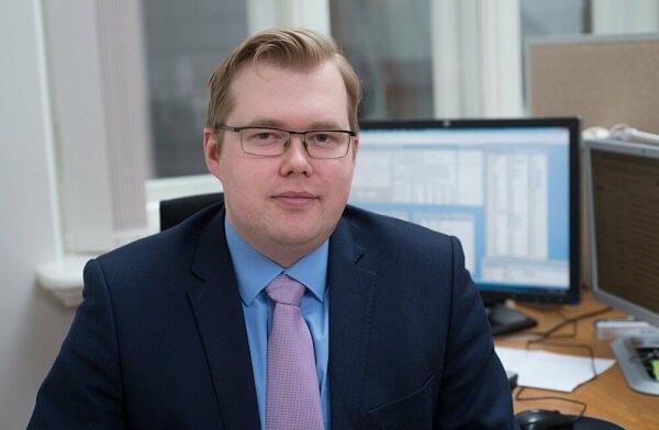 Сотрудник офиса в Эстонии