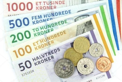 Валюта Дании