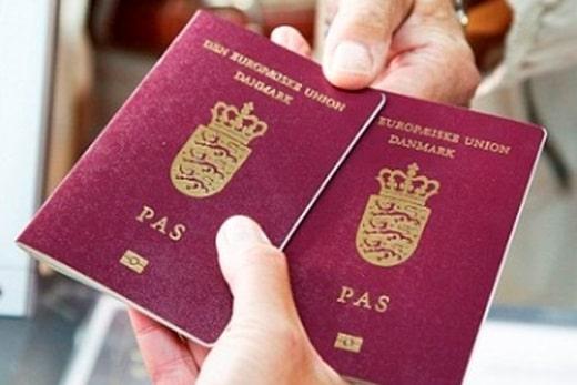 Паспорт Дании
