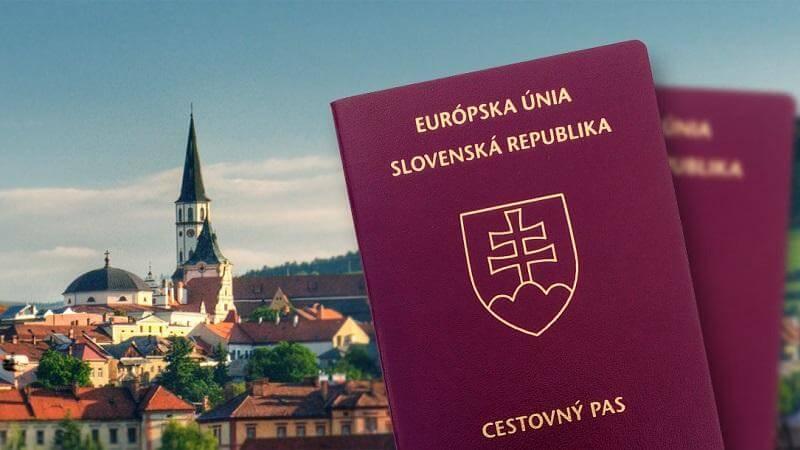 Паспорт Словакии