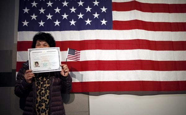 Тест для иммиграции в США