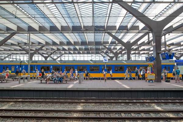 Поезд в Голландии