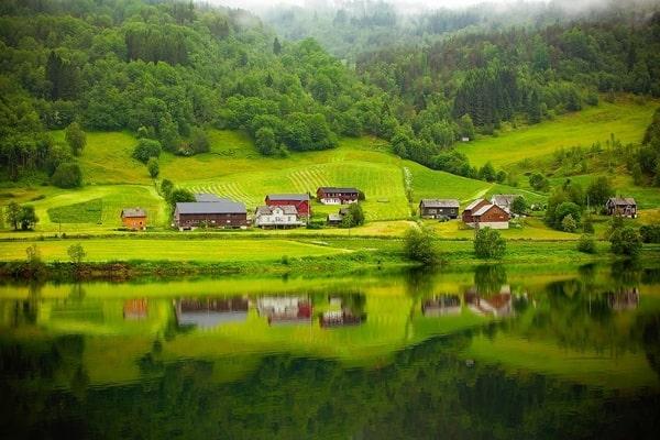 Пейзаж в Норвегии
