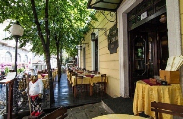ресторан в Сербии