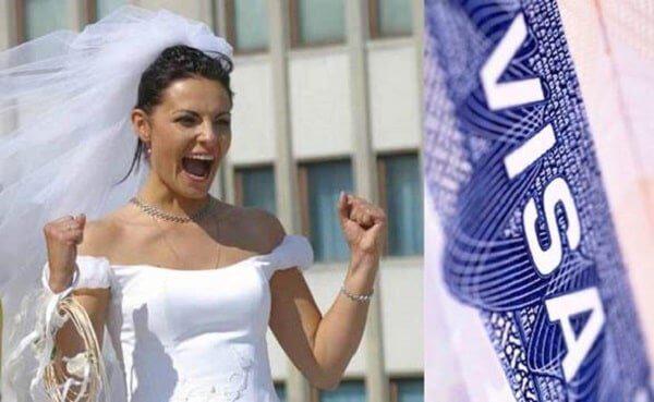 Виза для жениха или невесты