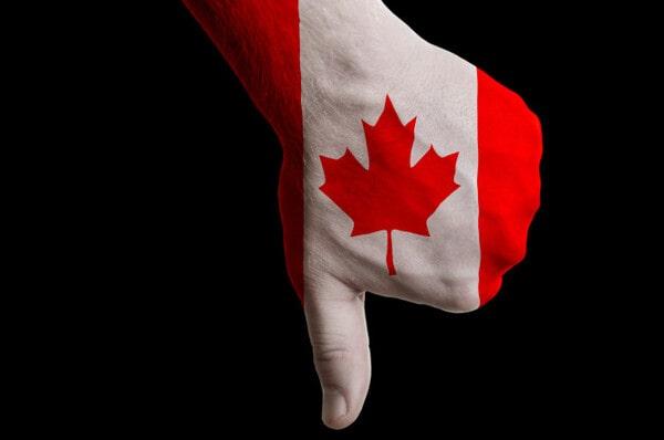 Минусы Канады