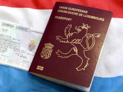 Паспорт гражданина Люксембурга