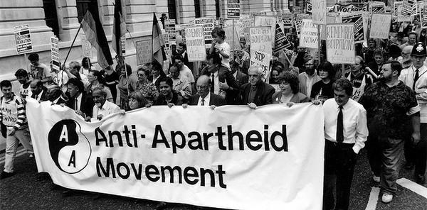 Борьба против апартеида