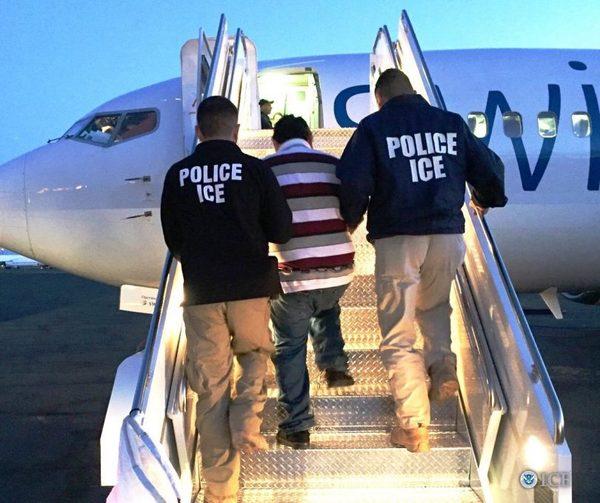 Депортация на самолет