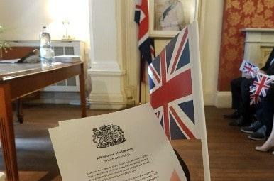 Гражданство Англии