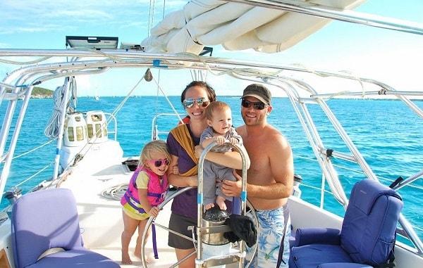 Семья отдыхает на Мальте