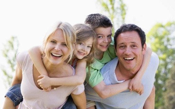 Семья в Люксембурге