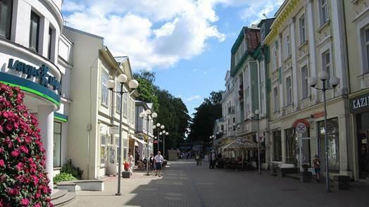 Улица в Латвии