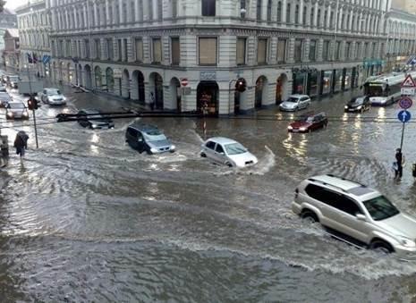 Наводнение в Латвии