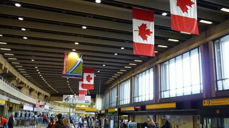 Транзитная виза в Канаду