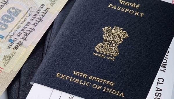 Индийский паспорт