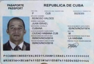 Кубинский паспорт