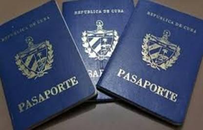 Кубинские паспорта