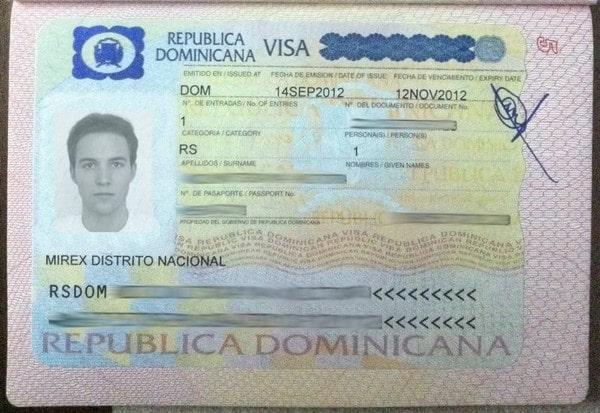 Доминиканская виза