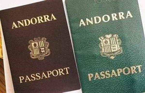 Паспорт Андорры