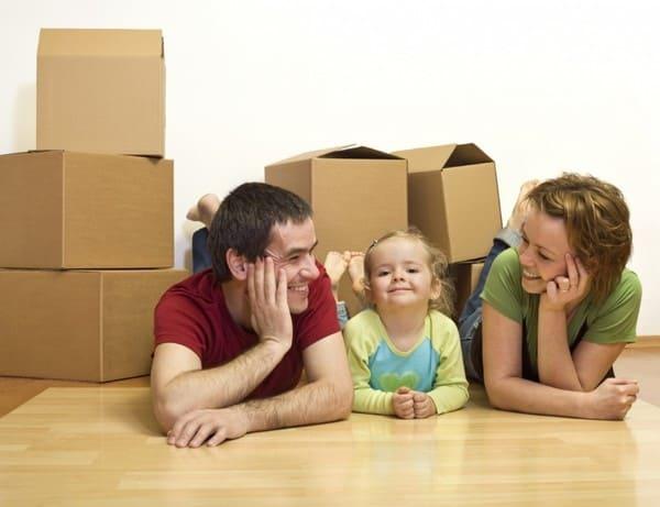 Переезд семьи