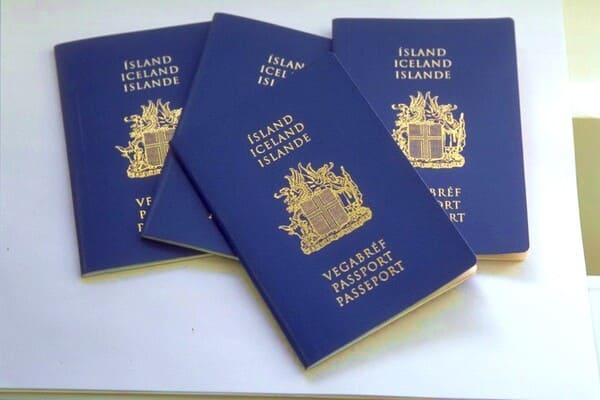 Паспорта Исландии