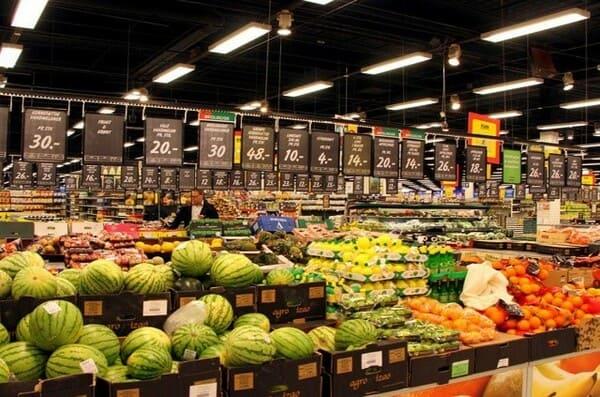 Рынок в Дании