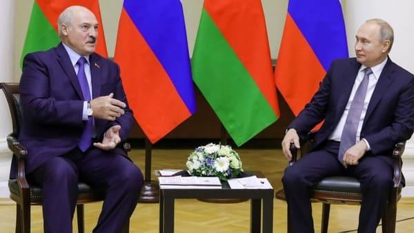 Президенты РБ и России