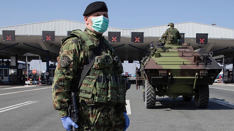 Специальный военный отряд РФ оказал помощь Сербской Республике