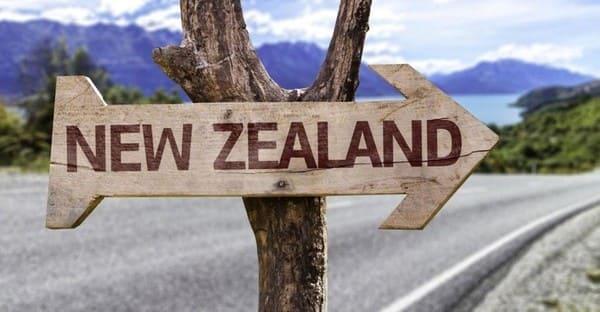 Табличка New Zealand