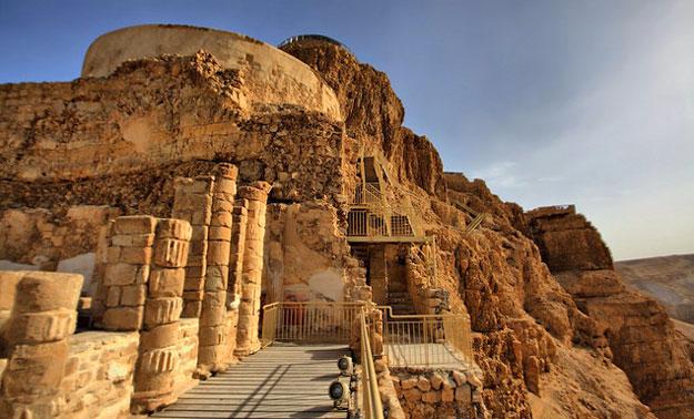 Крепость Масада в Израиле: история, фото
