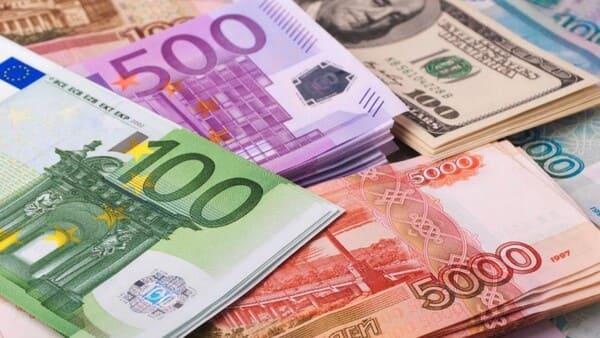 Евро, доллары, рубли