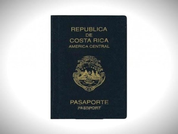 Костариканский паспорт