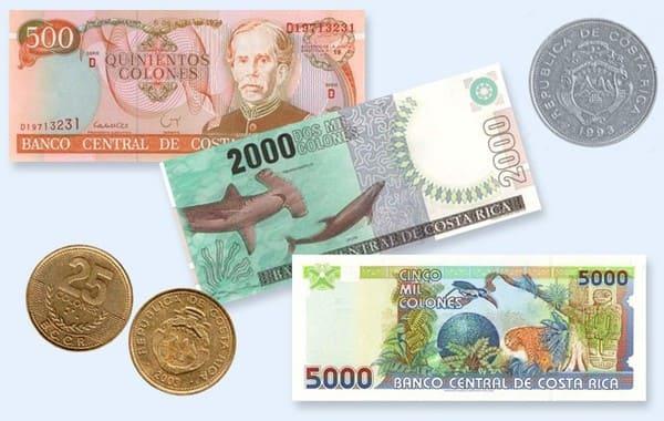 Валюта Коста-Рики