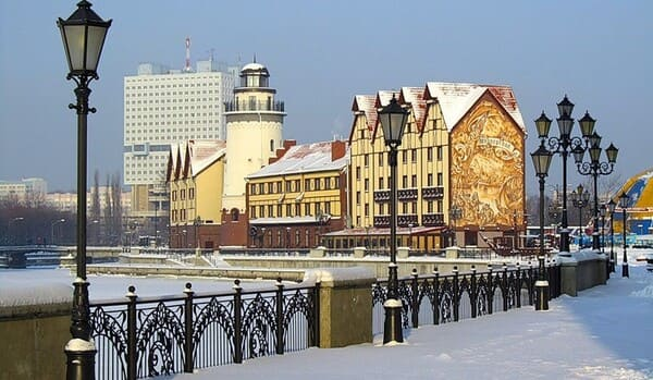 Зима в Калининградской области
